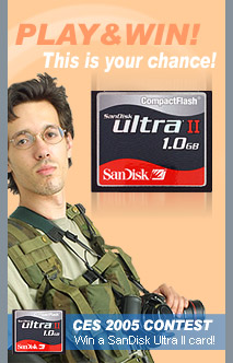 Play & Win a SanDisk Ultra II 1 GB Card!