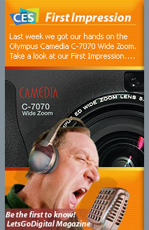 Olympus C-7070 digital camera review