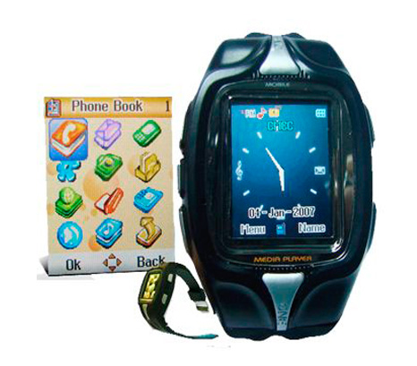 Wristwatch phone