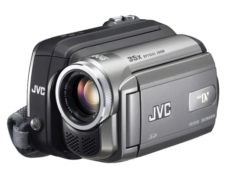 JVC mini DV camcorders