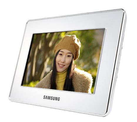 Samsung digital photo frames