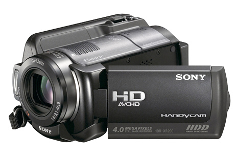 Sony GPS Camcorders