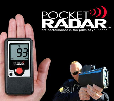 Pocket Radar at CES 2010 Show