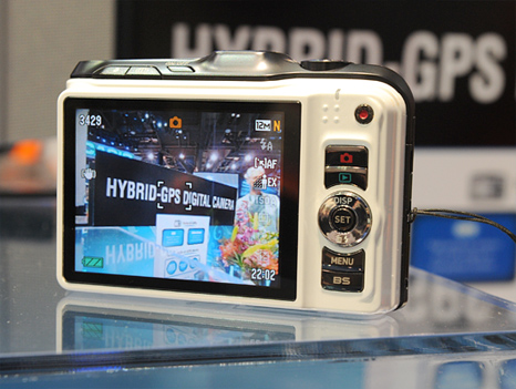 Casio Exilim GPS camera