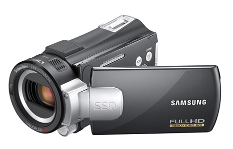 Samsung HD camcorders